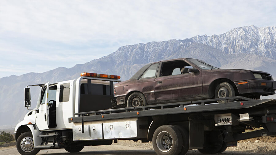 This is a picture of a towing.