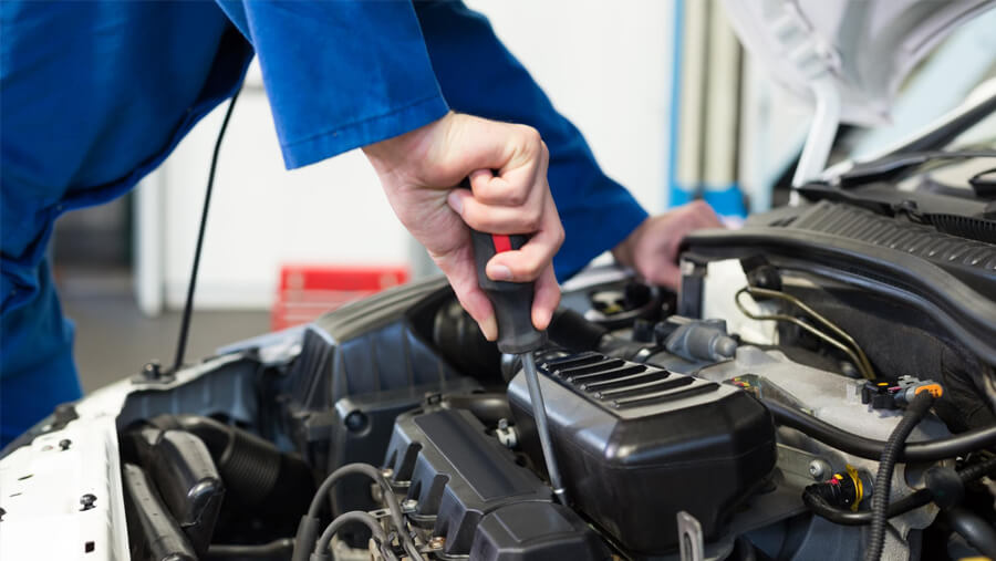 This is a picture of a transmission repair.